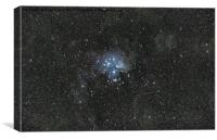 Pleiades., Canvas Print