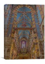 St. Mary's Basilica., Canvas Print