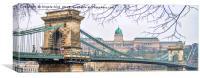 Chain Bridge., Canvas Print