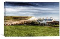 Seven Sisters Country Park, Canvas Print
