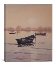 Sunrise Reflections, Canvas Print