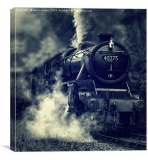 The Mail Train, Canvas Print