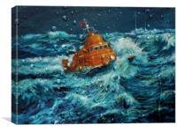 Stormy Seas, Canvas Print