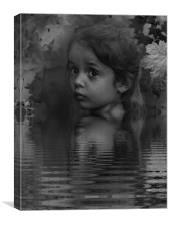 """""""The waters edge"""", Canvas Print"""