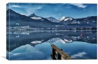 Cool Waters Of The Wolfgangsee, Canvas Print