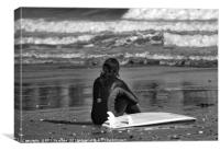 Surfer Girl, Canvas Print