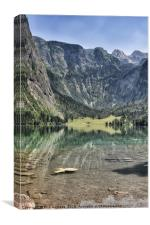 Obersee Blick, Canvas Print