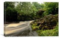 Packhorse Bridge, Glenlivet, Canvas Print