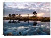Loch Ba Sunrise, Canvas Print
