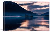 Invercoe Sunset, Canvas Print