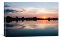 Startopsend Sunset, Canvas Print