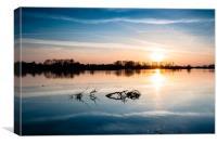 Wilstone Sunset, Canvas Print