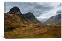 Two Sisters of Glen Coe, Canvas Print
