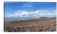 Burry Holme, Rhossili, Gower, Canvas Print