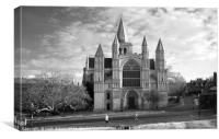 Rochester Cathedral , Canvas Print
