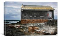 Old House Robben Island, Canvas Print