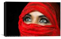 The Eyes, Canvas Print