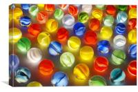Marbles and LIght, Canvas Print