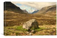 Scottish Highlands, Canvas Print