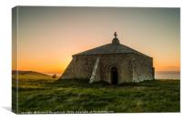 St Aldhelms Chapel, Canvas Print