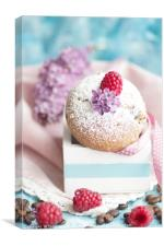 Candy Muffin, Canvas Print