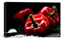 Red Pepper Still life, Canvas Print