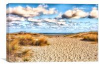 Summer Beach, Canvas Print