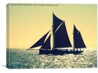 Brixham Trawler Provident, Canvas Print
