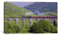 Glenfinnan viaduct, Canvas Print