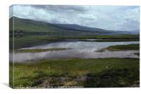 Cloud Reflections on Loch Eil, Canvas Print