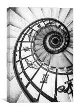 San Stefano Spiral, Canvas Print
