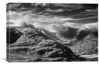Shrouded Hills, Canvas Print