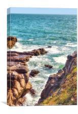 Atlantic Inlet, Canvas Print