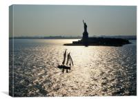 Lady Liberty, Canvas Print