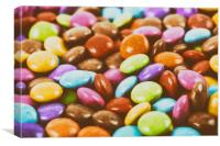 Sweet Colorful Candy, Canvas Print