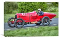 Vintage Racing Car - Hudson Special, Canvas Print