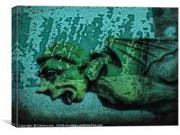 Gargoyle, Canvas Print