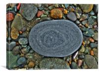 Beach Geology, Canvas Print