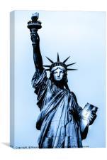 Statue of liberty, Canvas Print