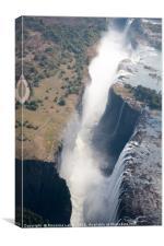 Victoria Falls, Canvas Print