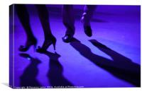 Tango dancer, Canvas Print