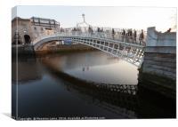 Historical bridge, Canvas Print