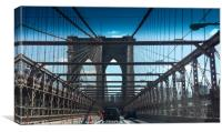 Brooklyn Bridge, NYC, Canvas Print