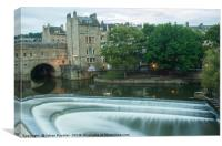 Pulteney Weir, Bath, Canvas Print