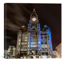 ROYAL LIVER BUILDING, Canvas Print