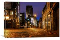 LIVERPOOL CATHEDRAL, Canvas Print
