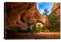 Jacob Hamblin Arch - Coyote Gulch - Utah, Canvas Print