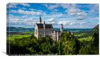 Neuschwanstein Castle - Bavaria - Germany, Canvas Print