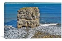 Marsden Rock, Canvas Print