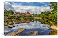 Reflections at Wycliffe , Canvas Print